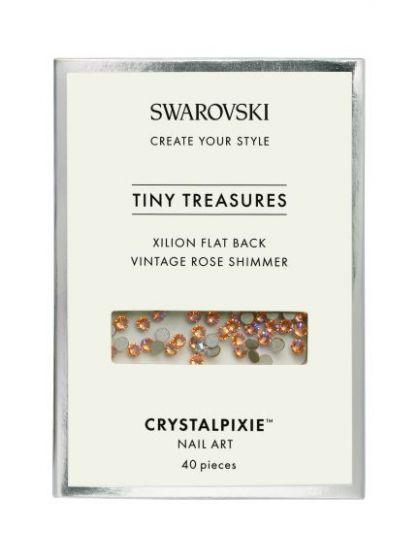 Swarovski Tiny Treasures - Vintage Rose Shimmer