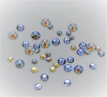 Swarovski-mix, Blue Dream, 200 stk.