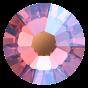 Swarovski-mix, Rose Peach Shimmer. 100 stk.