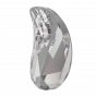 Swarovski 2365 Paisley Y flatback, Crystal, 6 x 3,7 mm, 10 stk.