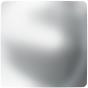 Swarovski 2408/4 Cabochon Square, Crystal Nacre HF, 8 mm.
