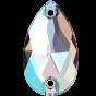 Swarovski 3230 Drop 12 x 7 mm, Crystal Shimmer
