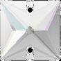 Swarovski 3240 Square 16 mm, Crystal AB