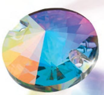 Preciosa Rivoli 14 mm, Crystal AB