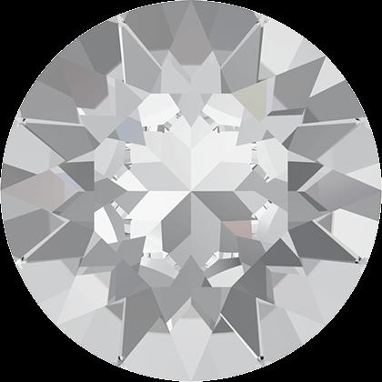 Kæmpe Swarovski Xirius Chaton, Crystal unfoiled, 50 mm.