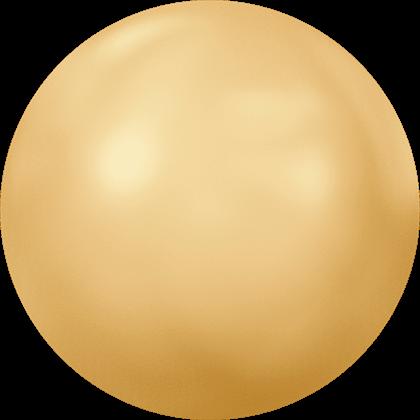 Swarovski 2080/4 Crystal Gold Pearl HF