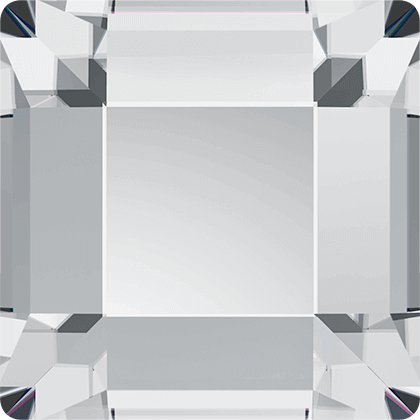 Swarovski 2400 Square, Crystal, 2,2 mm, 10 stk.