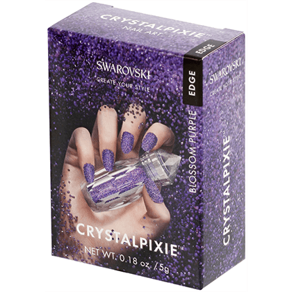 Swarovski Crystal Pixie Edge - Blossom Purple