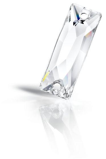 Preciosa Maxima Slim Baguette, 18 x 6 mm, Crystal