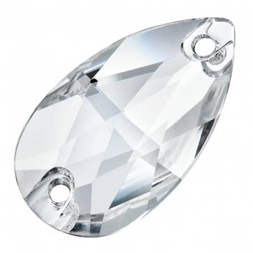 Preciosa Pearshape 12 x 6 mm, Crystal