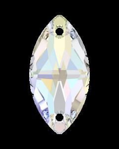Swarovski 3223 Navette, Crystal AB