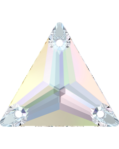 Swarovski 3270 Triangle 16 mm, Crystal AB