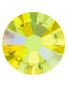 Swarovski 2058 Xilion Rose, Citrine Shimmer