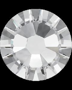 Swarovski-mix, Crystal (lille), 100 stk.