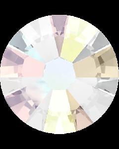 Swarovski-mix, Crystal AB (lille), 100 stk.