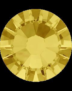 Swarovski 2028, Light Topaz (unfoiled)