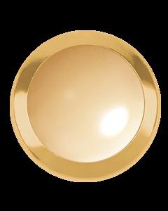 Swarovski 2080/H Framed Cabochon, Golden Shadow ss34