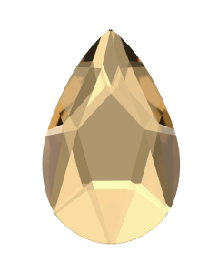 Swarovski 2303 Pear, Crystal Golden Shadow, 14 x 9 mm, 1 stk.