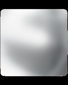 Swarovski 2408/4 Cabochon Square, Crystal Nacre HF, 4 mm.