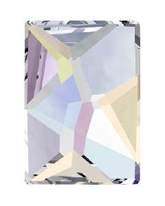Swarovski 2520 Cosmic, Crystal AB, 10 x 8 mm, 1 stk.