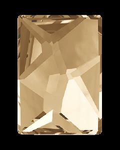 Swarovski 2520 Cosmic, Crystal Golden Shadow, 10 x 8 mm, 1 stk.