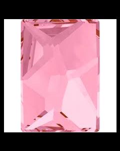 Swarovski 2520 Cosmic, Light Rose HF, 14 x 10 mm, 1 stk.