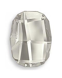Swarovski 2585 Graphic FB, Crystal Silver Shade, 8 mm, 1 stk.