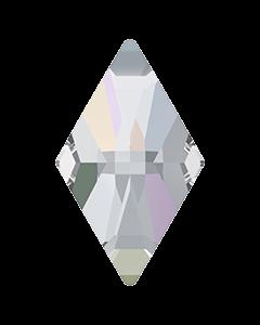 2709 Rhombus FB, 13 x 8 mm, Crystal AB