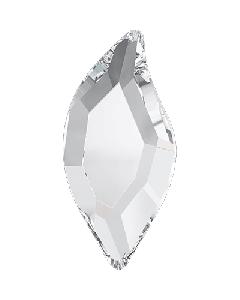 Swarowski 2797 Diamond Leaf 8 x 4 mm, Crystal, 10 stk.
