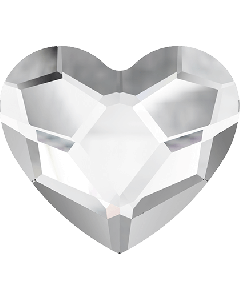 Swarovski 2808 Heart, Crystal, 3,6 mm, 10 stk.