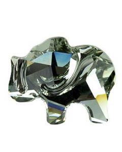 Swarovski 2835 Elephant, Black Diamond
