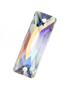 Preciosa Maxima Slim Baguette, 18 x 6 mm, Crystal AB