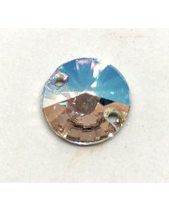 Swarovski 3200 Rivoli, Crystal Shimmer, 12 mm