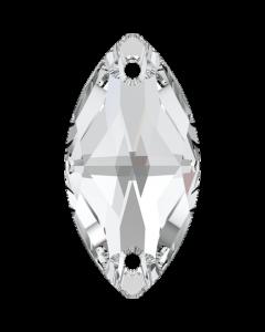 Swarovski 3223 Navette, Crystal