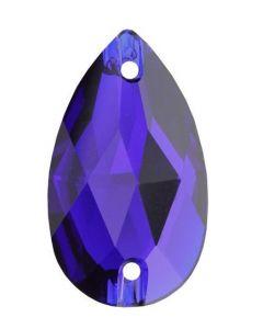 Swarovski 3230 Drop, Cobalt