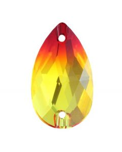 Swarovski 3230 Drop, Fireopal