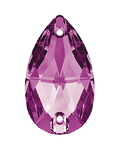 Swarovski 3230 Drop 12 x 7 mm, Fuchsia