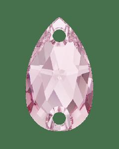 Swarovski 3230 Drop, Light Rose