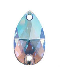 Swarovski 3230 Drop, Light Sapphire Shimmer