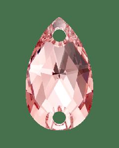 Swarovski 3230 Drop, Rose Peach