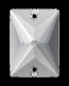 Swarovski 3250 Rectangle 18 x 13 mm, Crystal