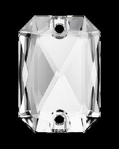 Swarovski 3252 Emerald Cut 14 x 10 mm, Crystal