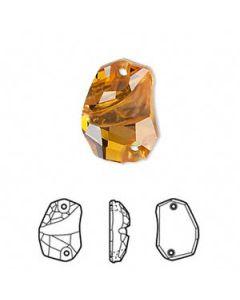 Swarovski 3257 Divine Rock 19 x 13 mm, Topaz