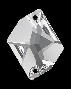 Swarovski 3265 Cosmic 20 x 16 mm, Crystal