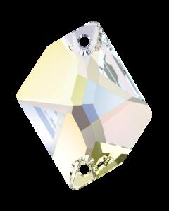 Swarovski 3265 Cosmic 26 x 21 mm, Crystal AB