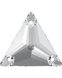 Swarovski 3270 Triangle 22 mm, Crystal