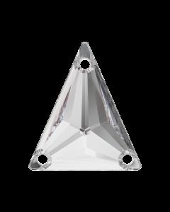 Swarovski 3271 Slim Triangle 18 x 21 mm, Crystal