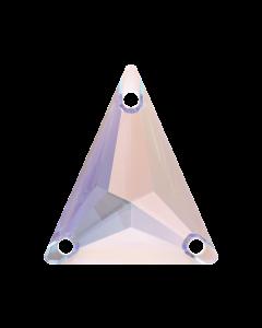 Swarovski 3271 Slim Triangle 18 x 21 mm, Crystal AB