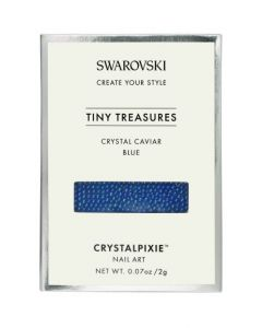 Swarovski Tiny Treasures - Crystal Caviar Blue
