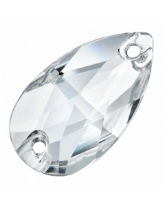Preciosa Pearshape 28 x 17 mm, Crystal